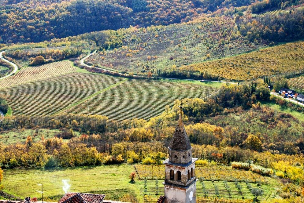 Istrian landscape, Photo © credits: YasmineV