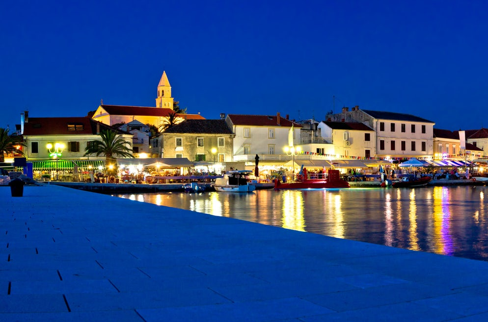 Port in Biograd; Photo © credits: xbrchx