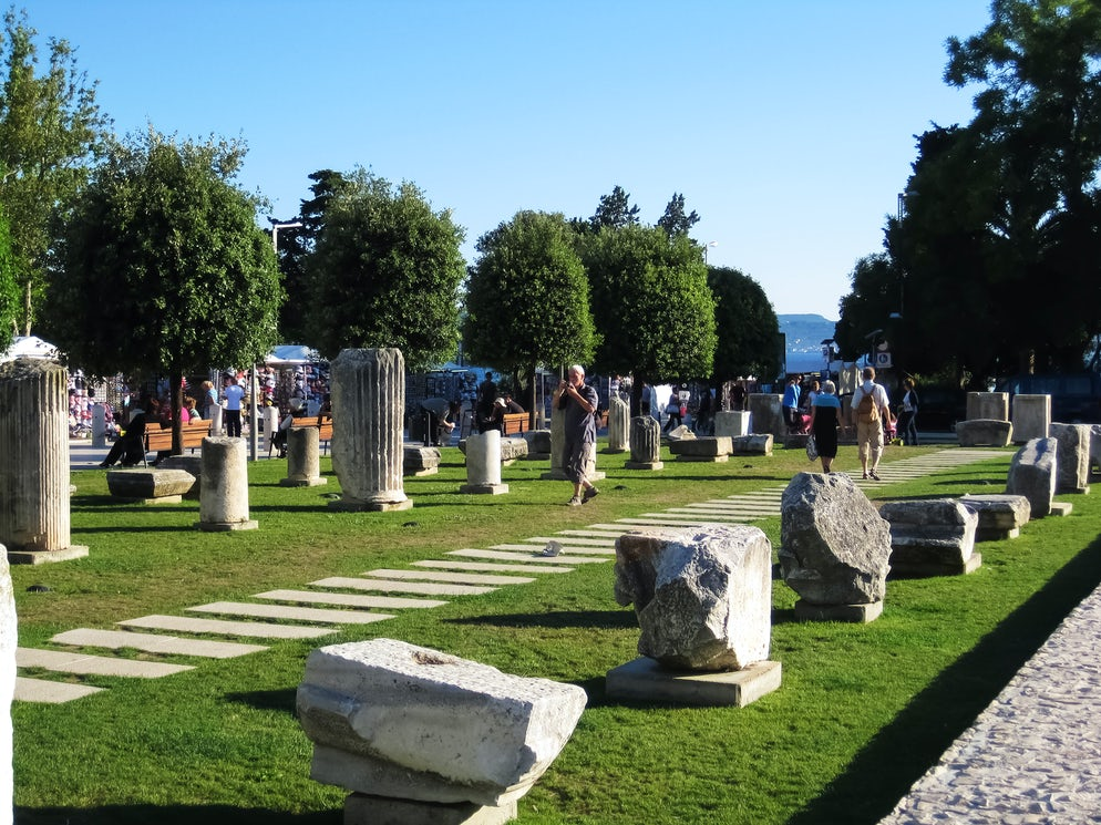Roman Forum in Zadar; Photo © credits: Marko Horvat
