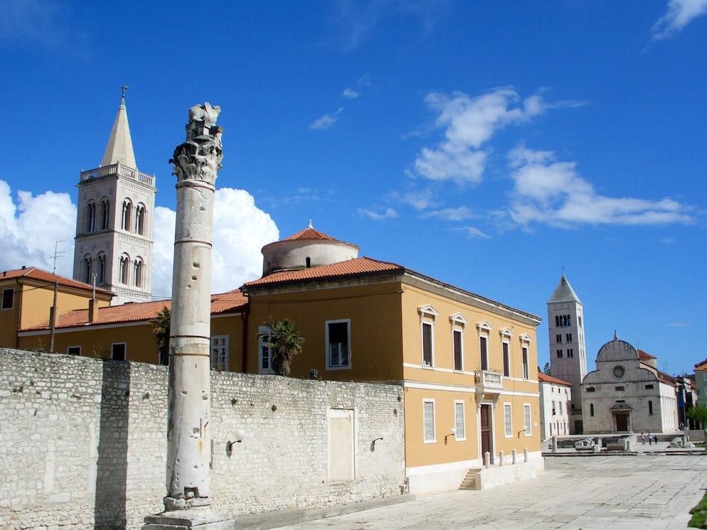 The column of shame; Photo © credits: Zadar Tourist Board