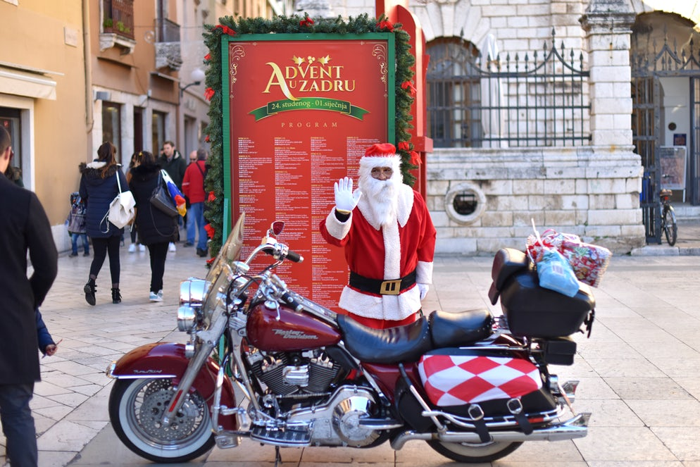 Santa is here; Photo © credits: Dino Stanin
