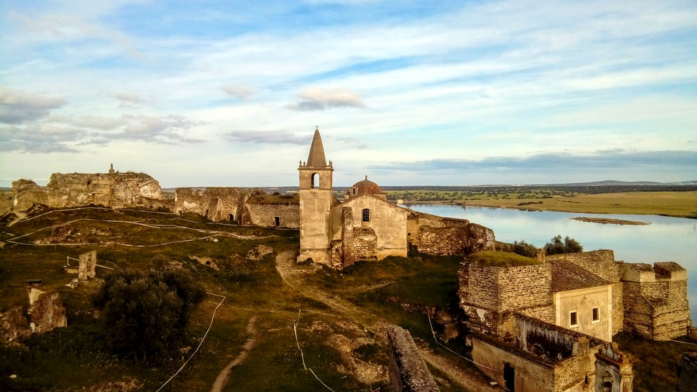 Picture Credit: © Adam L. Maloney (The ruins of the Portuguese fortified town of Juromenha)