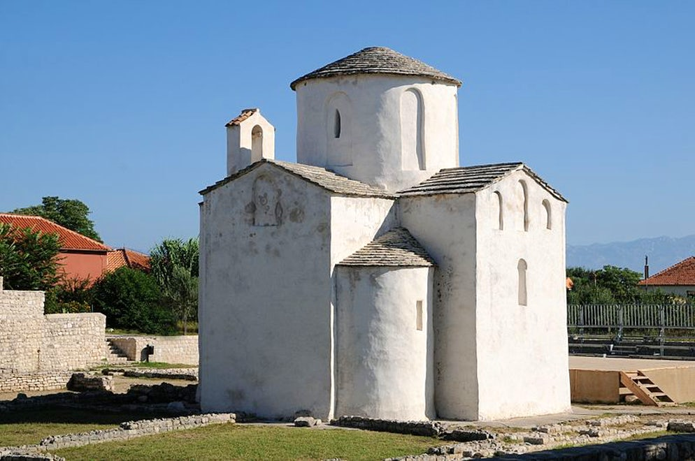 Church of the Holy Cross in Nin; Photo © credits: Böhringer Friedrich