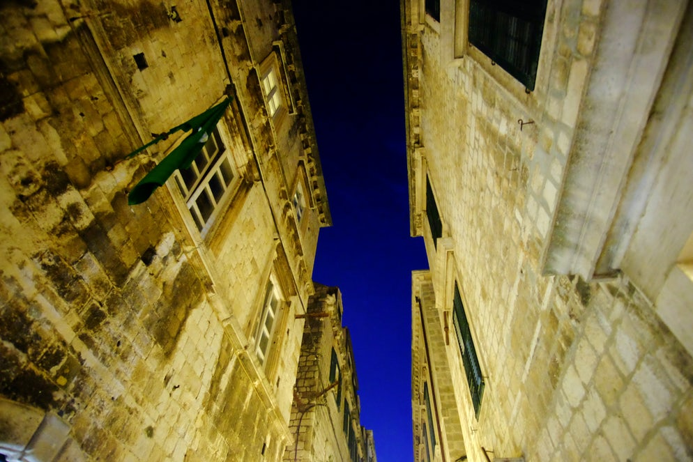 Old buildings, Stradun; Photo © credits: AustinChan