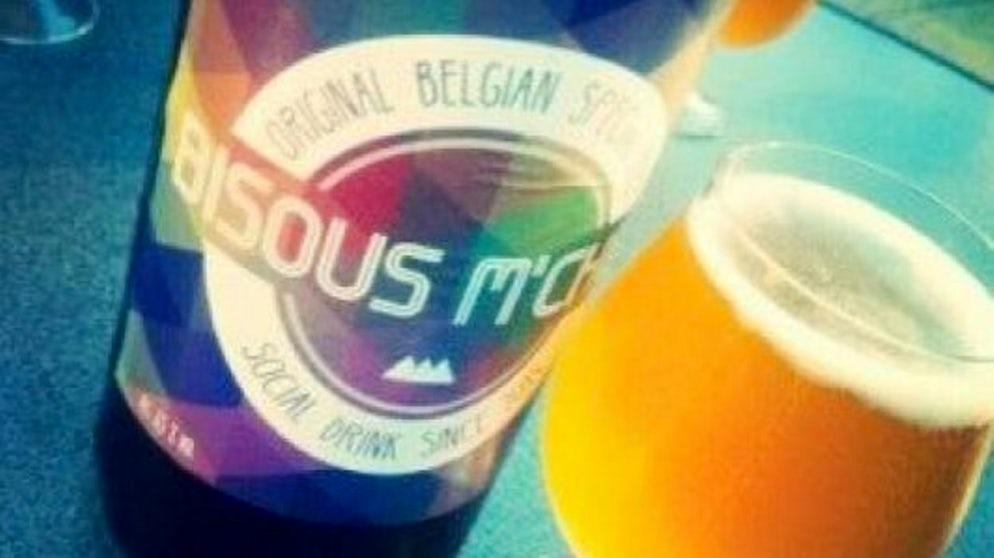 """Beer """"Bisous M'Chou"""