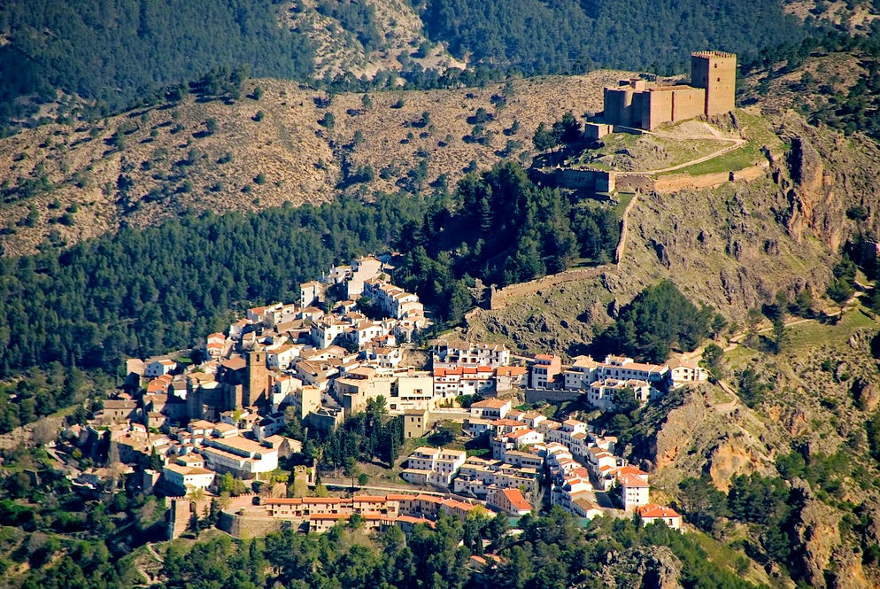 City of Jaén seen from the air - Picture credits @ m-martinez