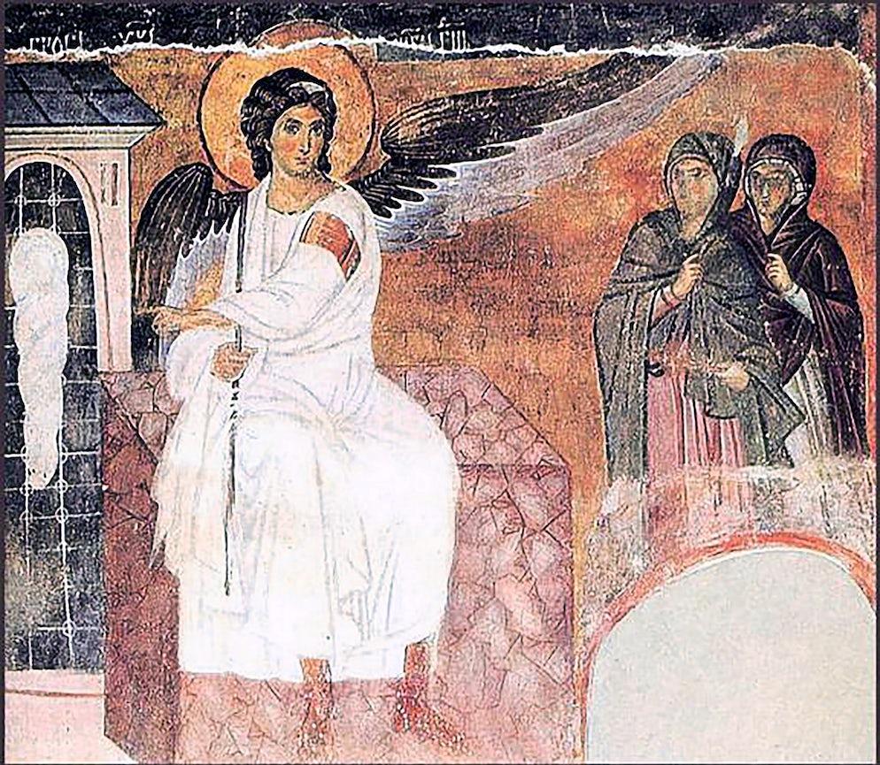 Myrrh-bearers on Christ's Grave © Credits to Levan Ramishvili