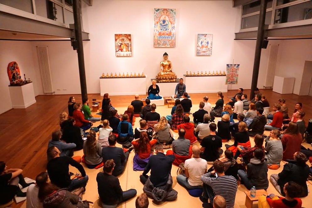 Photo © Buddhistisches Zentrum Hamburg