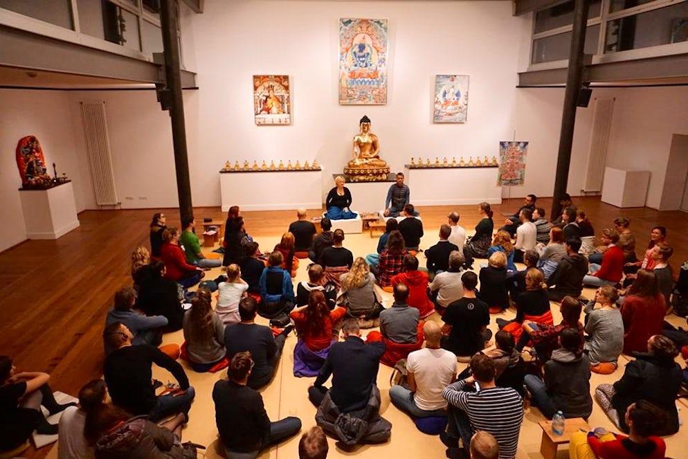 Photo © Buddhistisches Zentrum Hamburg