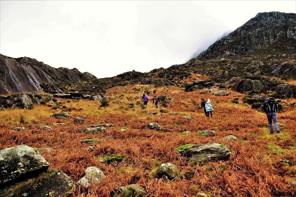 Mount Tryfan - Picture @ Credits to Joe Thorpe