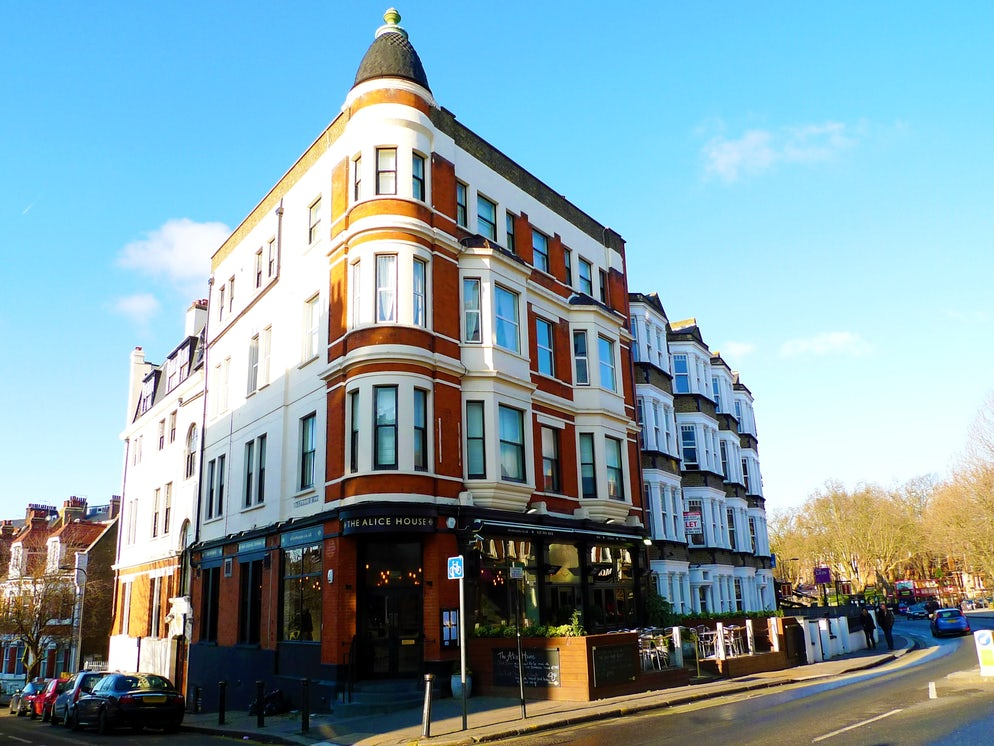 Picture Credit: © Ewan Munro/Creative Commons (The Alice House bar on West End Lane)