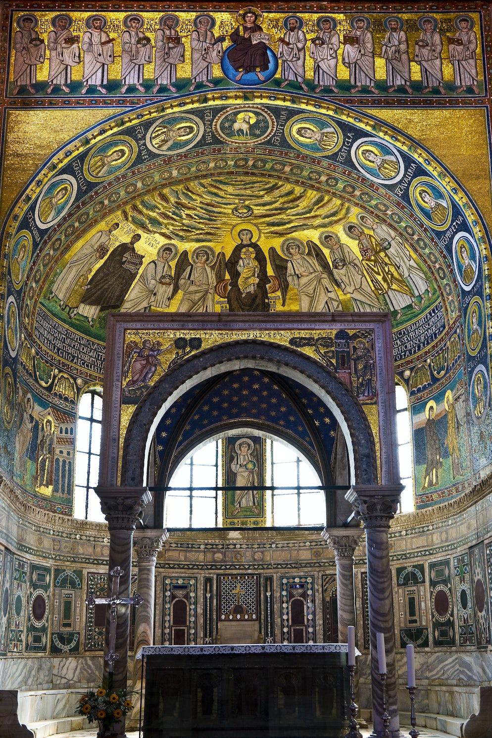 Euphrasian Basilica mosaics; Photo © credits: WitR