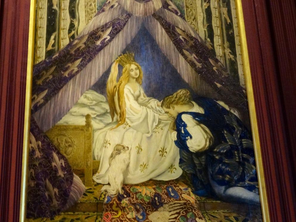 A painting inside the Waddesdon Manor   Credits: Vy Dan Tran