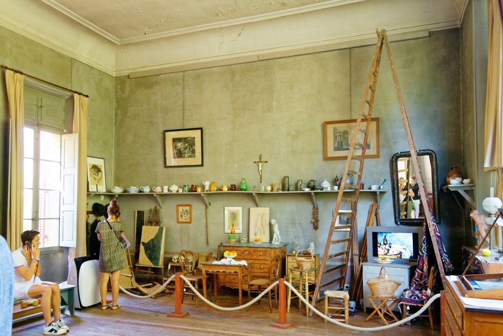Cézanne Atelier. Picture © Credits to Wikimedia Commons/Bjs