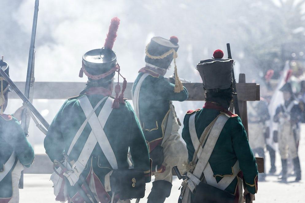 Representation of the Battle of Bailén (1808) at Bailén (Jaén) - credits @ digicomphoto