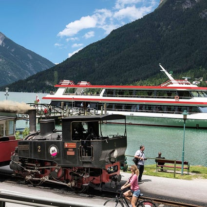 With the Steam Train and the Boat to Achensee