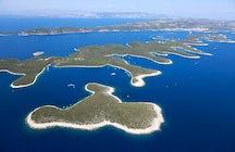 Paklinski otoci vai tirar-lhe o fôlego