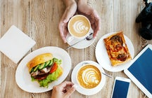Lunch and coffee in Sofia for your Instagram feed