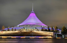 Khan Shatyr, an impressive entertainment venue in Astana