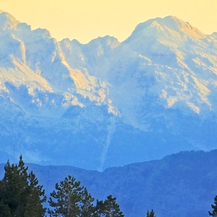 Accursed mountains in the heart of the Balkans