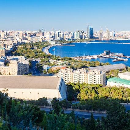 Baku - Stad van parken