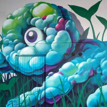 Pasila: el distrito de arte callejero de Helsinki