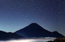 Gunung Prau, een vulkaan met het beste uitzicht op Midden-Java.