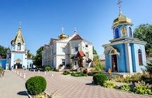 Kloster Ciuflea, ein ganzheitliches Zentrum im Herzen von Chisinau.