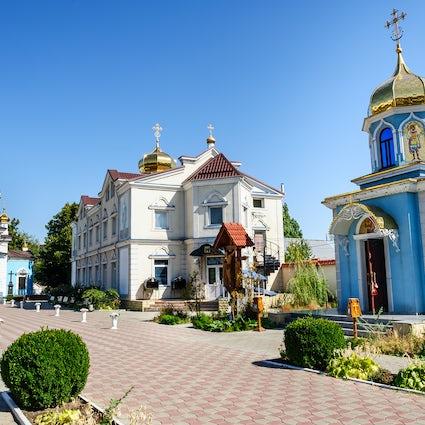 Ciuflea Monastery, a holistic center in the heart of Chisinau
