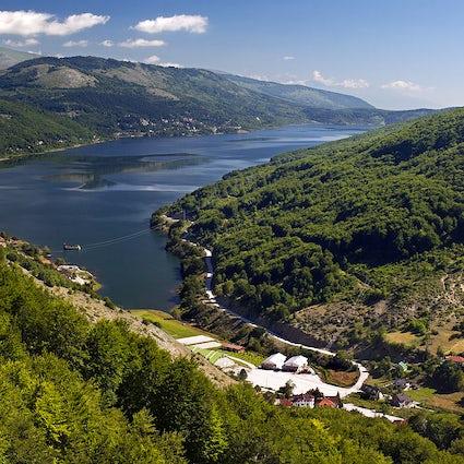 Mavrovo, het grootste nationale park van Noord-Macedonië, is het grootste nationale park van Noord-Macedonië.