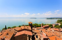Descubra o lago Trasimeno e suas pitorescas aldeias