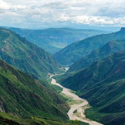 La Mesa de los Santos and the Chicamocha Canyon