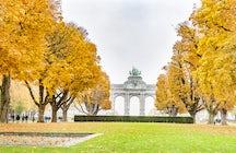 Verdura de Bruxelas : Parc du Cinquantenaire