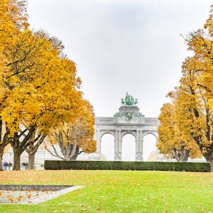 Brussels greenery : Parc du Cinquantenaire
