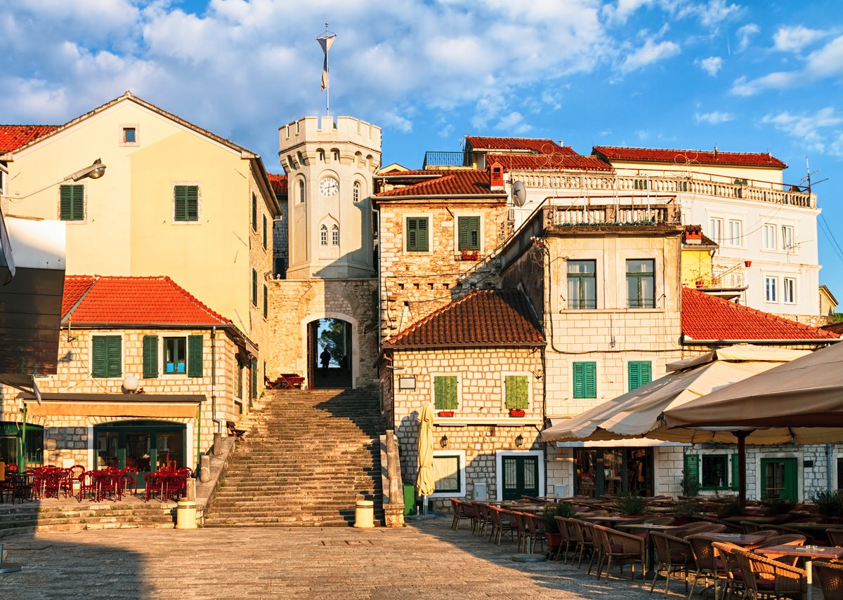 Herceg Novi - a town of stairs