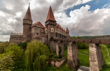One of the remnants of the medieval Transylvania: The Corvin Castle