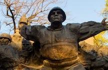 Victory Day celebration in Almaty's Park of 28 Panfilov guardsmen