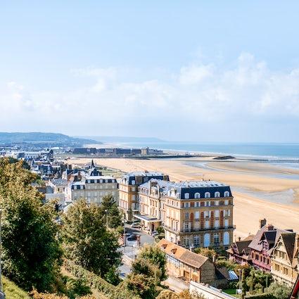 La Côte Fleurie en Normandía: la pintoresca Trouville
