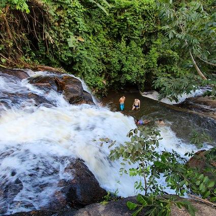 Un día de viaje al campo de Pernambuco: Las cascadas de Bonito