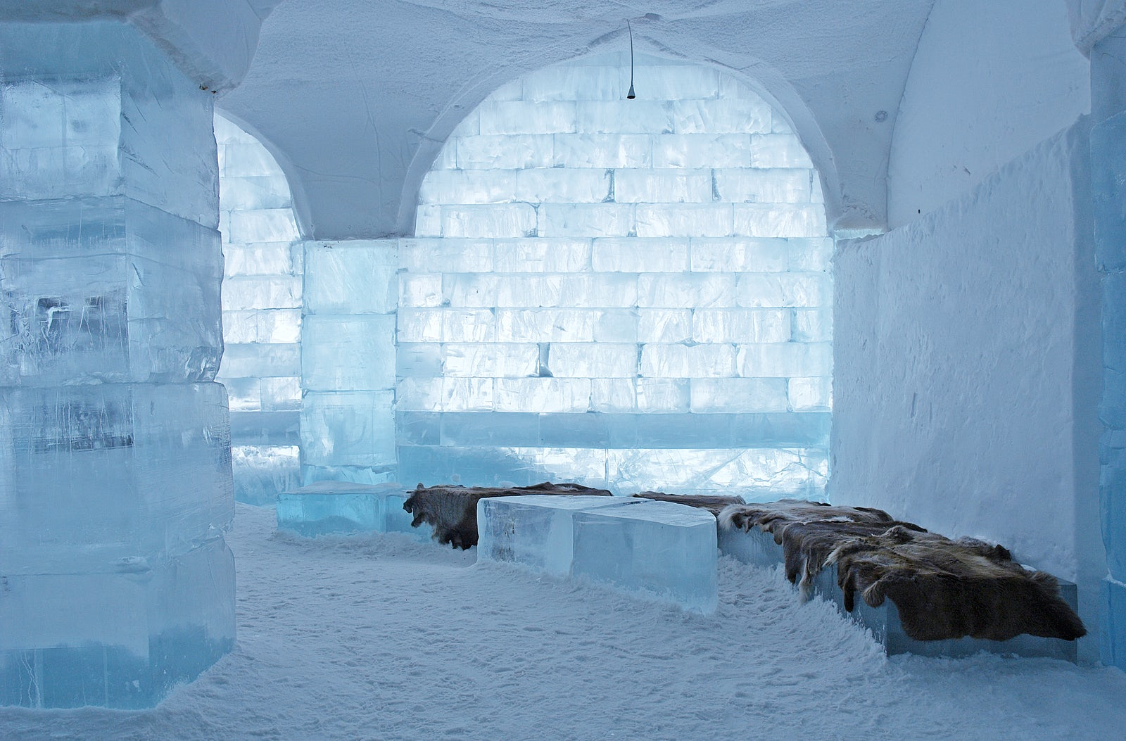 The biggest Ice Hotel in the world