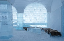 Das größte Eishotel der Welt
