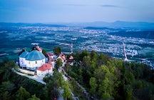 Ljubljana's popular hiking destination: Mount Saint Mary