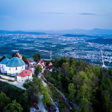 El popular destino de senderismo de Ljubljana: Monte Santa María