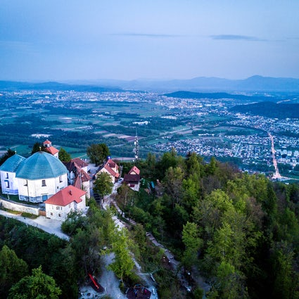 Ljubljana's popular hiking destination: Mount Saint Mary