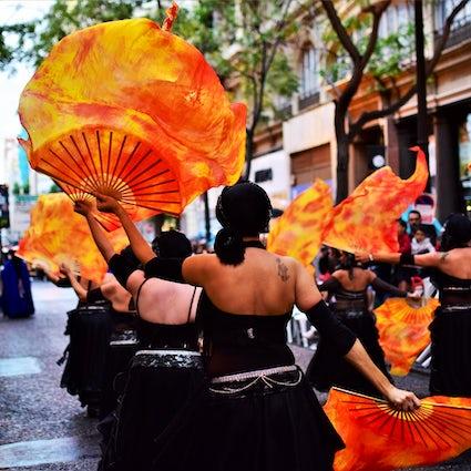 Celebrating Valencia in September