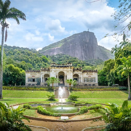 Enjoying nature in Rio: Parque Lage