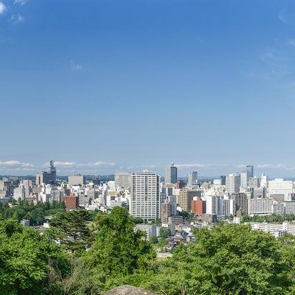 Tohoku's forest capital city, Sendai