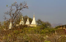 The Buddhist architecture of Monywa