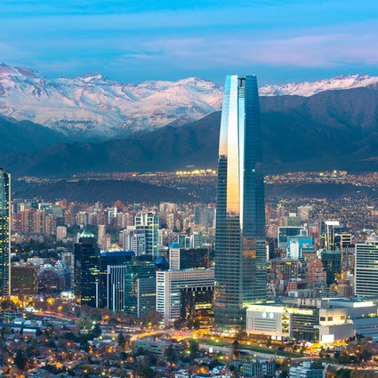 Santiago de Chile, a first stroll in the capital