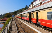 Joyful Kalka to Shimla toy train ride in India